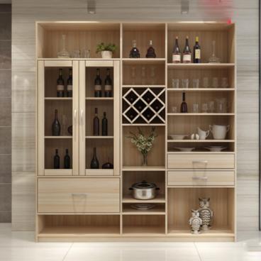 Tủ rượu gỗ gia đình Anh Hùng Quận 7