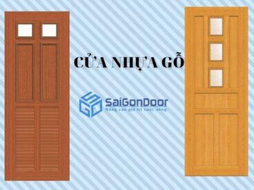 Báo giá cửa nhựa gỗ composite【 10/2021】